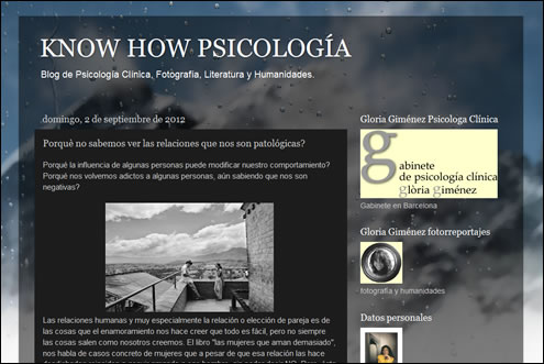 Blog Know How Psicología